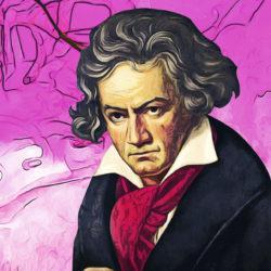 Download von www.picturedesk.com am 13.12.2019 (13:49).  Ludwig van Beethoven (1770-1827). ÖlLw.  (1819). - 20091113_PD1460