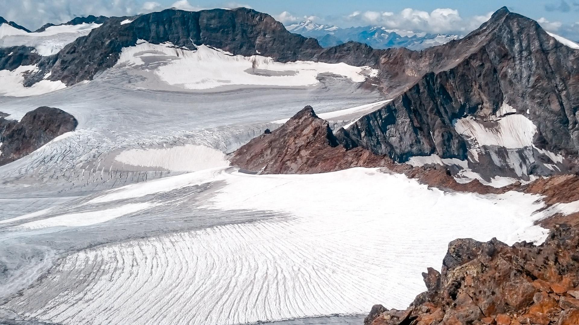 Gletscher am Übertalferner.