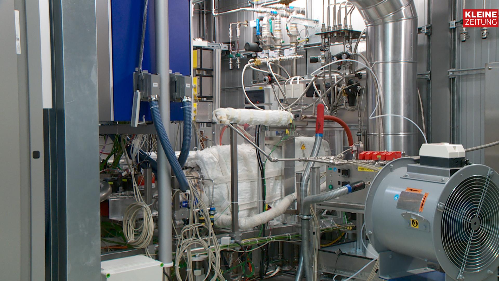 Brennstoffzellen-Prüfstand der AVL